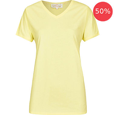 Bloomy single-jersey women's T-shirt