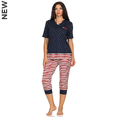 Normann single jersey women short pyjamas