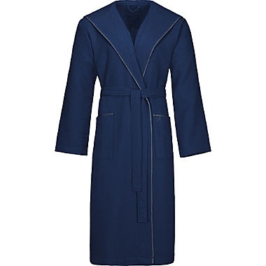 Bugatti men's hooded bathrobe