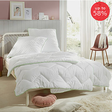 Erwin Müller double pack 4-seasons duvets and pillows