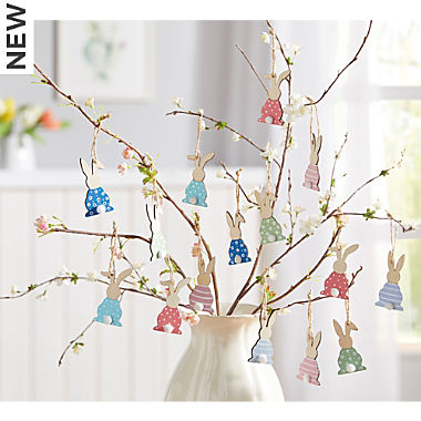 deco hanger rabbit 9-pc