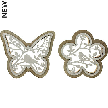 figure flower & butterfly 2-set