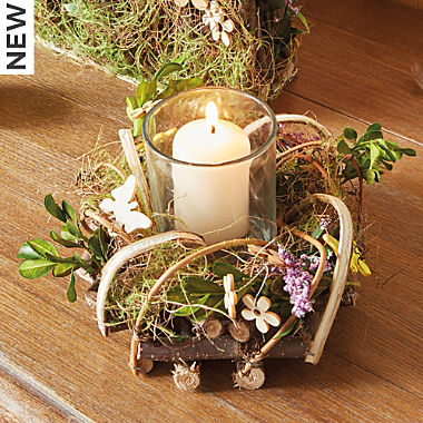 candle holder, 2-parts