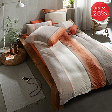 Erwin Müller interlock jersey duvet cover set