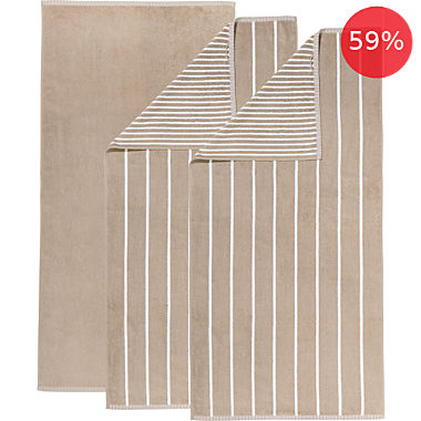 Erwin Müller 3-pack bath towels