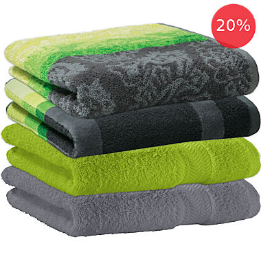 Erwin Müller hand towel set 4-pack