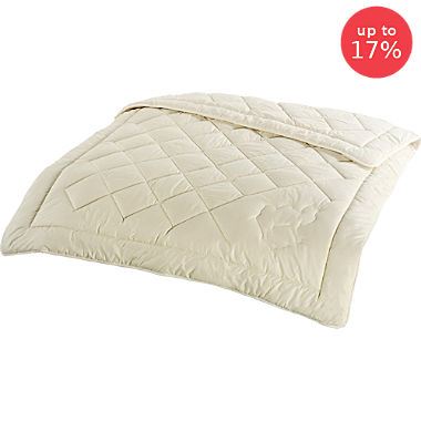 duo quilted duvet