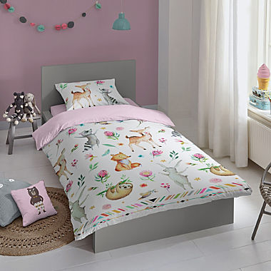 Good Morning renforcé kids - reversible duvet cover set