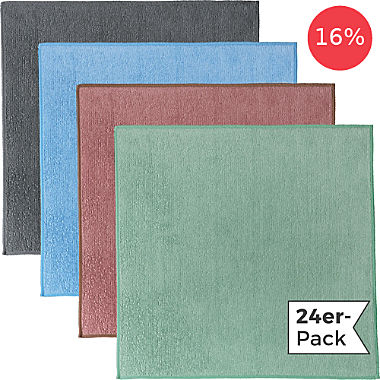 Erwin Müller microfiber cloth 24 pack