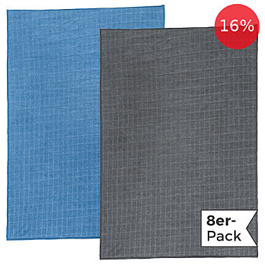 Erwin Müller microfiber cloth 8 pack