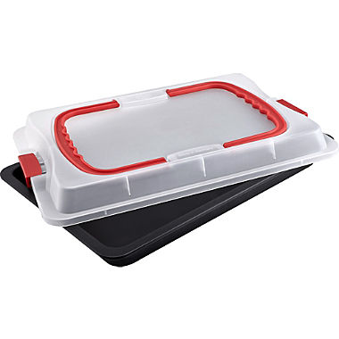 Dr. Oetker baking tray with transport hood