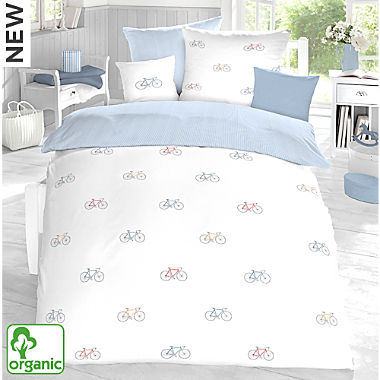 Schlafgut single jersey reversible duvet cover set