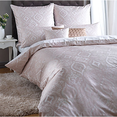 Curt Bauer Egyptian cotton brocade damask reversible bed linen