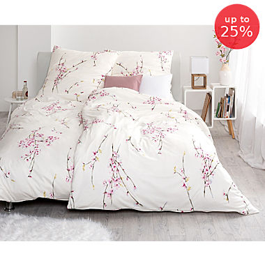 Estella Egyptian cotton interlock jersey duvet cover set