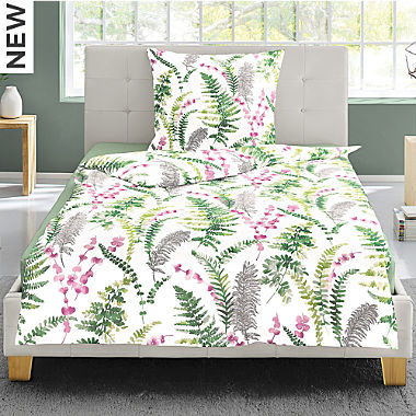 Irisette interlock jersey duvet cover set