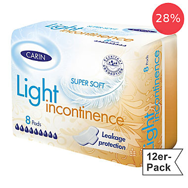 CARIN incontinence pad 12-pack