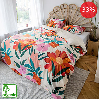Covers & Co. percale organic reversible bed linen