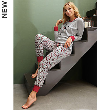 Schiesser interlock jersey women´s pyjamas