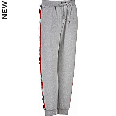 Erwin Müller men's leisure trousers, long cuffs