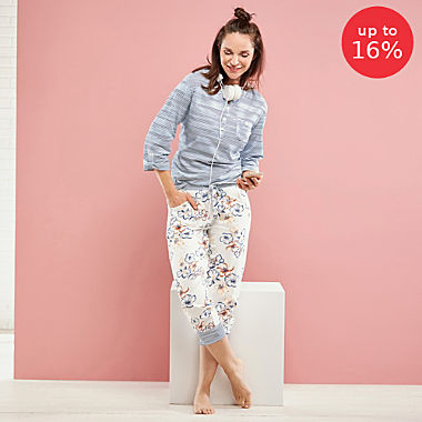 Hajo Klima Komfort single jersey women´s pyjamas