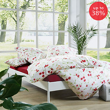 REDBEST single jersey duvet cover set