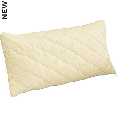 Irisette Greenline spelled pillow with pine chips