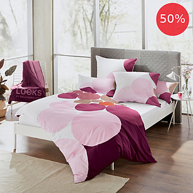 Looks by Wolfgang Joop cotton flannelette duvet cover set