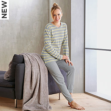 Erwin Müller single jersey women´s pyjamas