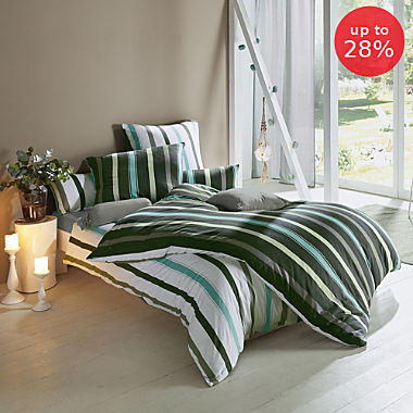 Erwin Müller single jersey reversible duvet cover set