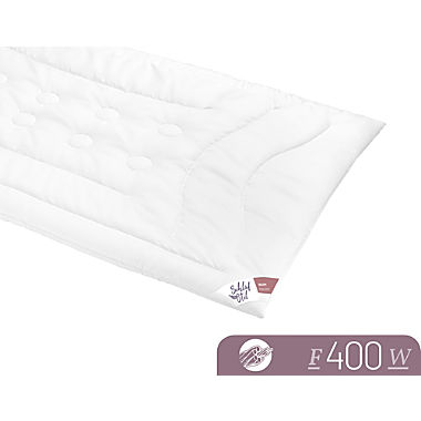 Schlafstil duo quilted bed F400