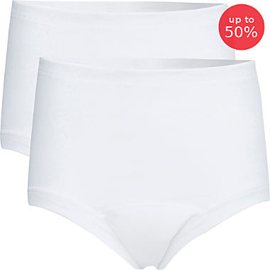 Pack of 2 Con-ta incontinence briefs for women