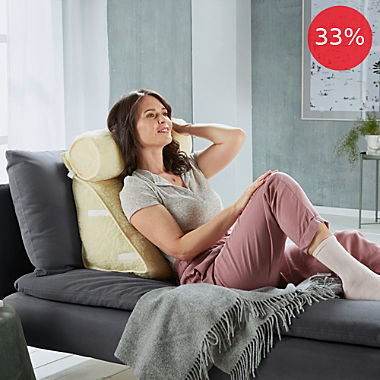 Erwin Müller back cushion with bolster