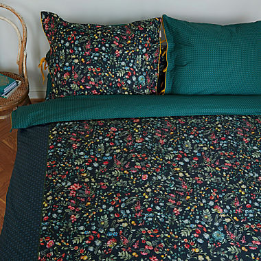 Pip percale reversible bed linen