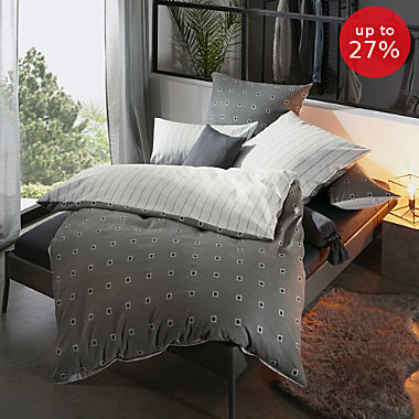 Erwin Müller cotton flannelette reversible duvet cover set