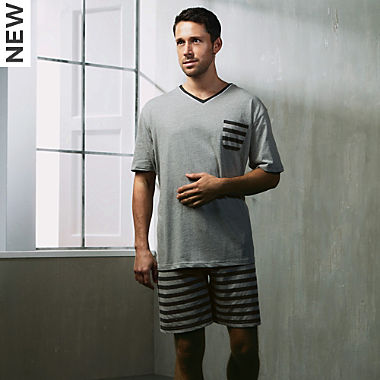 REDBEST single jersey men´s short pyjamas