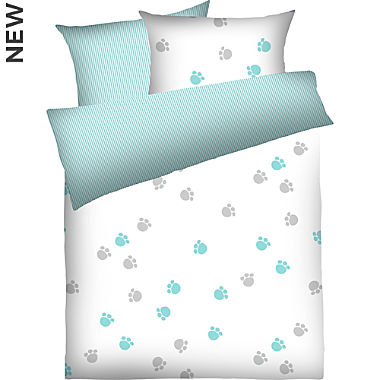 Dyckhoff soft terry towelling children's reversible duvet cover set
