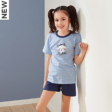 Erwin Müller single jersey kids short pyjamas
