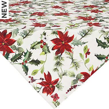 Sander cotton square tablecloth