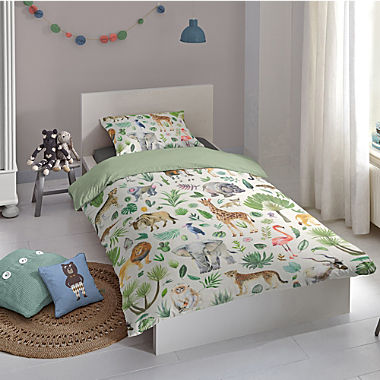 Good Morning renforcé reversible duvet cover for children