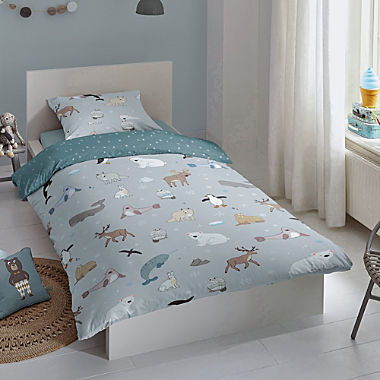 Good Morning cotton flannelette reversible bed linen