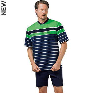 Hajo Klima Komfort single jersey men´s short pyjamas