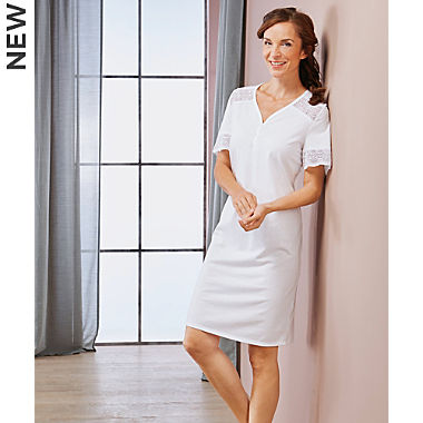 Rösch single jersey nightshirt