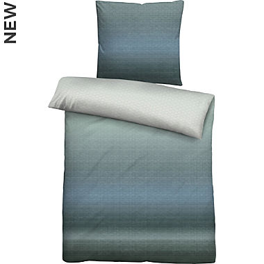 Biberna Egyptian cotton sateen duvet cover set
