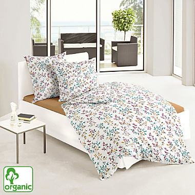 Bierbaum cotton flannel organic cotton duvet cover set