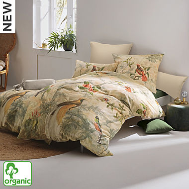 Erwin Müller Egyptian cotton sateen organic cotton reversible duvet cover