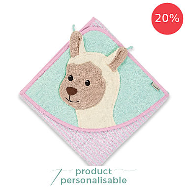 Sterntaler hooded bath towel