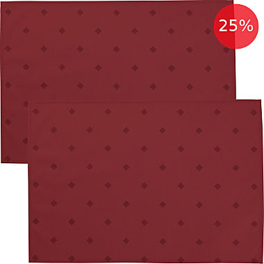 Erwin Müller wipe-clean 2-pack table mats
