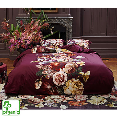 Essenza premium sateen organic cotton reversible duvet cover set