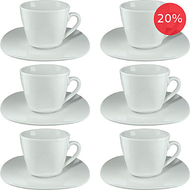 Erwin Müller coffee cup set