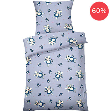 Dyckhoff soft terry towelling kids duvet cover set